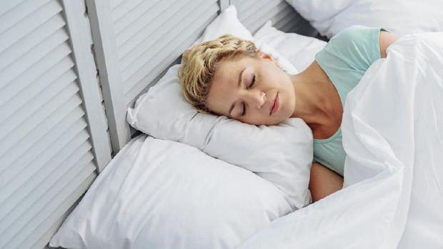 Ilustrasi tidur obat tradisional masuk angin