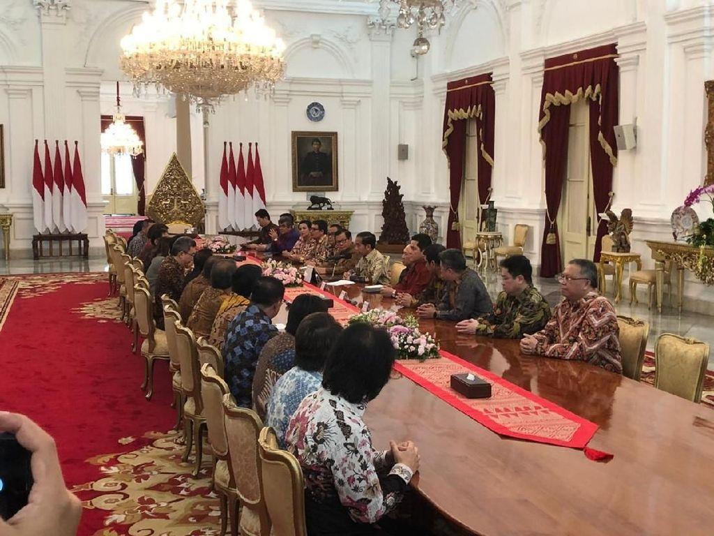 Curhatan Jokowi di Depan Pengusaha Kakap