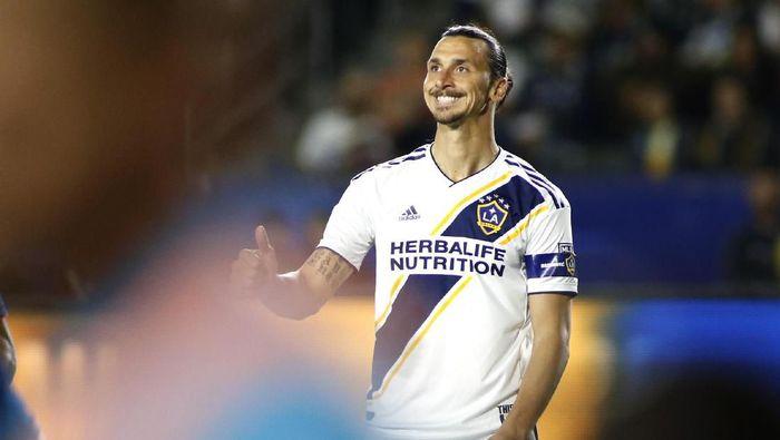 Zlatan Ibrahimovic paling tajir di MLS. (Foto: Katharine Lotze / Getty Images)
