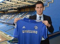 Eden Hazard tiba di Chelsea (Chelsea FC via Getty Images)