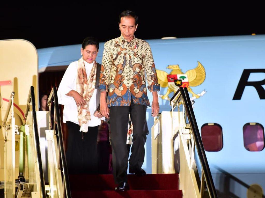 Kunker ke Bali, Jokowi Bagi Sertifikat Tanah hingga Tinjau Kawasan Wisata