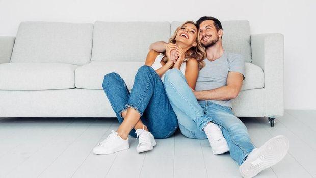 ilustrasi pasangan suami istri/