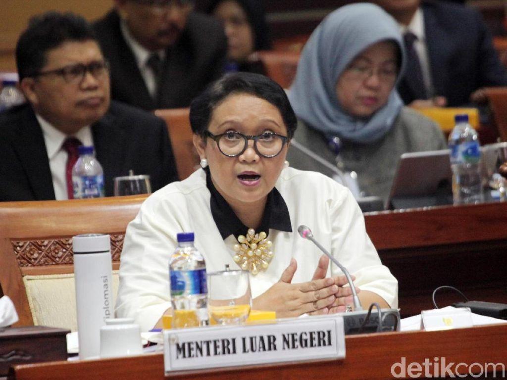 Menlu Sampaikan Pencalonan RI sebagai Dewan HAM PBB ke DPR