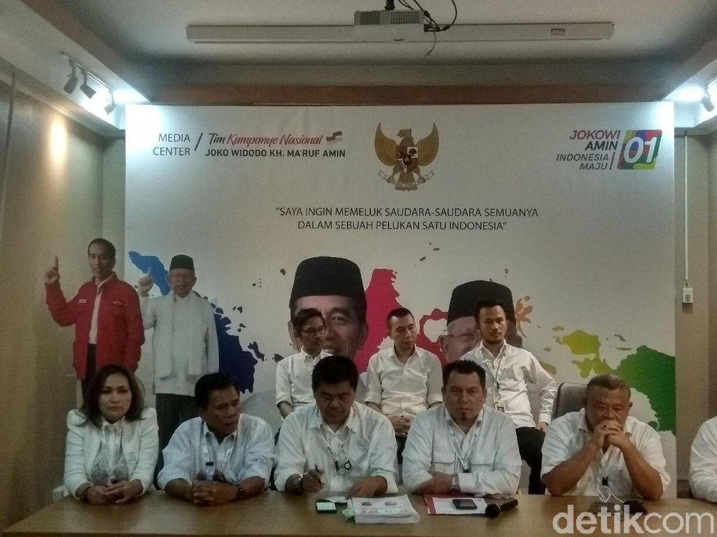 TKN: Jokowi-Maruf Tak akan Hadiri Sidang Sengketa Pilpres Besok