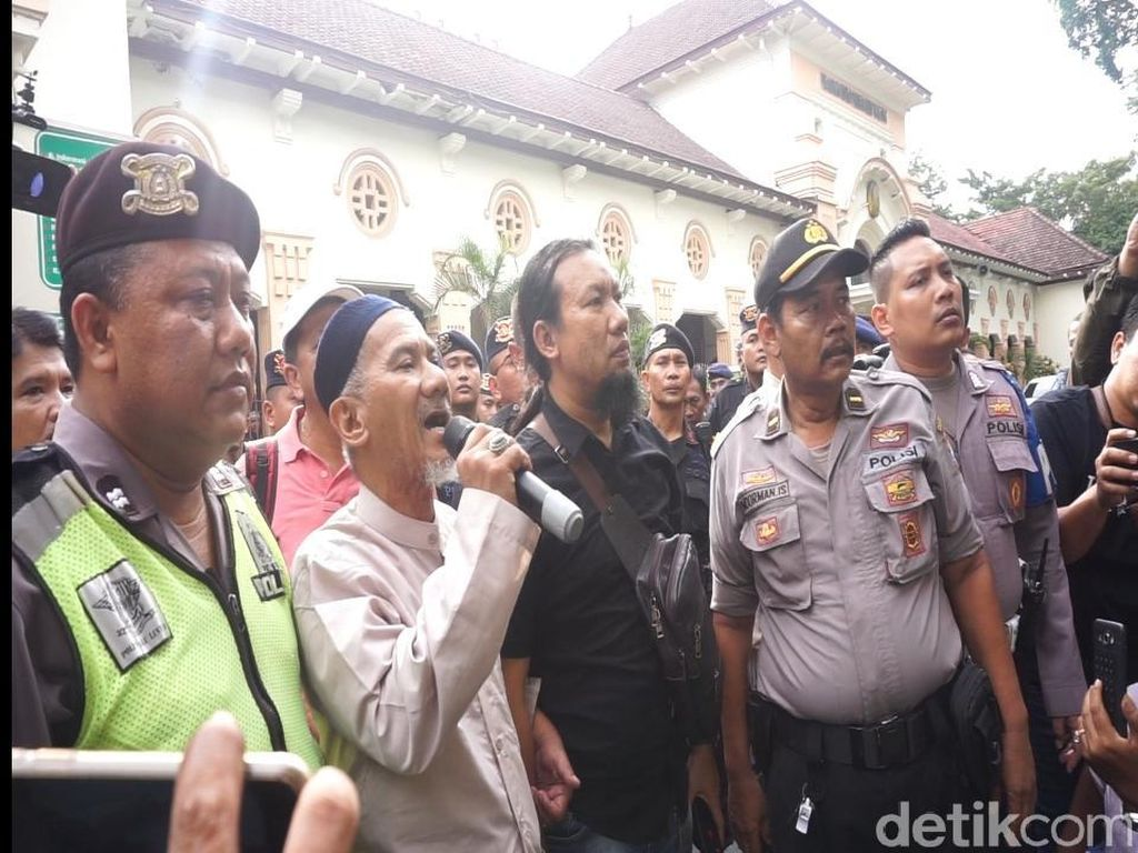 Suasana Usai Sidang Gus Nur Ricuh Gara-gara Teriakan PKI