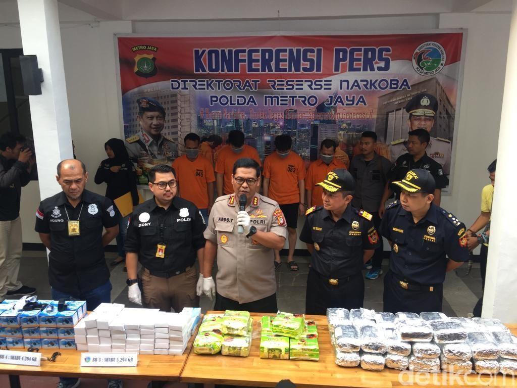Kurir Narkoba Jaringan Malaysia-Jatim Ditangkap, 5 Kg Sabu Disita