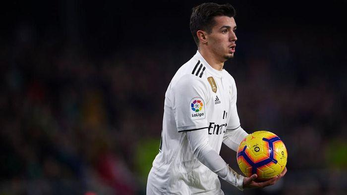 Brahim Diaz kembali dibekap cedera dan belum bisa tampil untuk Real Madrid (Foto: Aitor Alcalde/Getty Images)