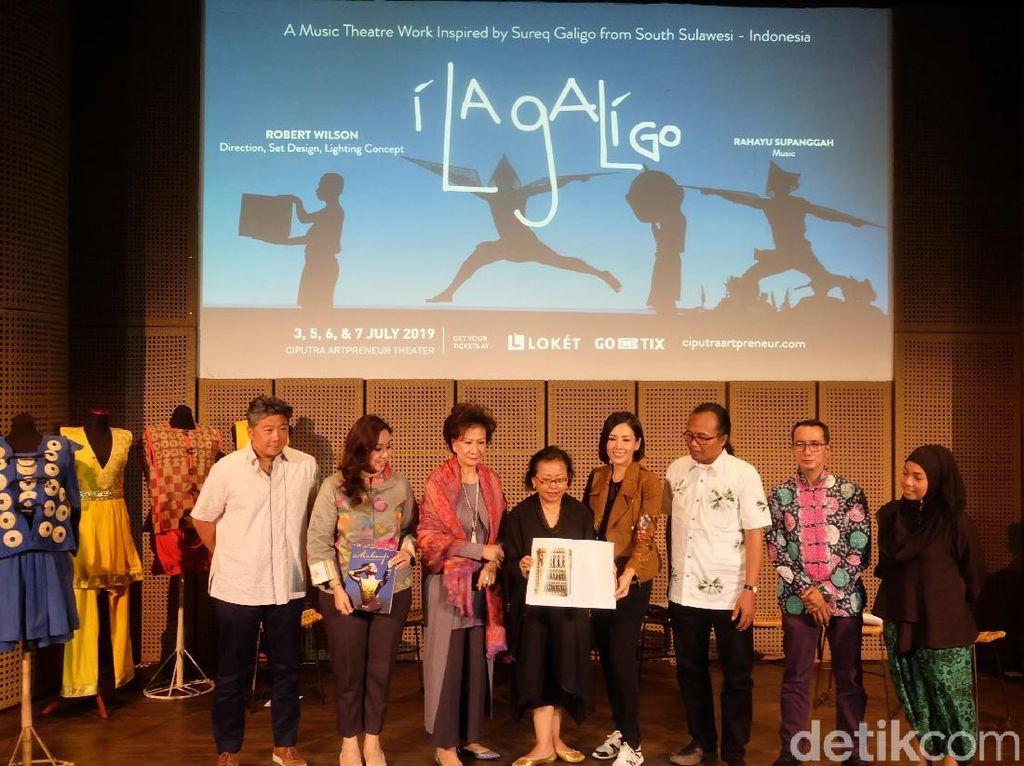 Kerja Keras di Balik Layar Pertunjukan Kelas Dunia I La Galigo