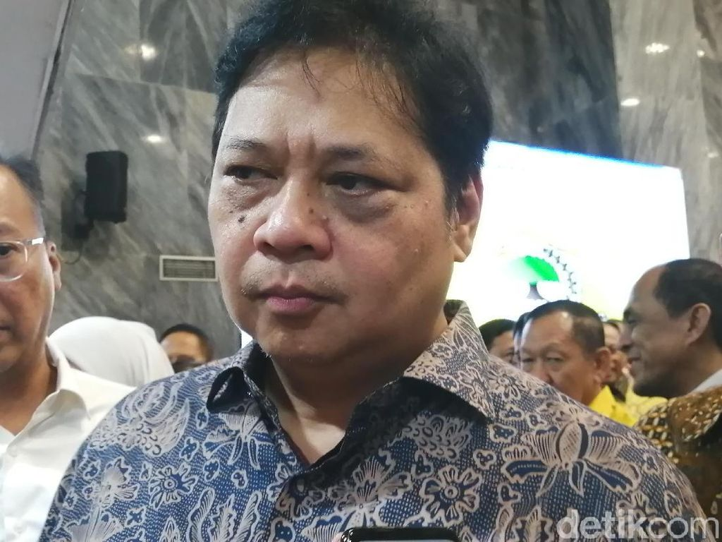 PKB Incar Posisi Ketua MPR, Airlangga: Tergantung Kursi