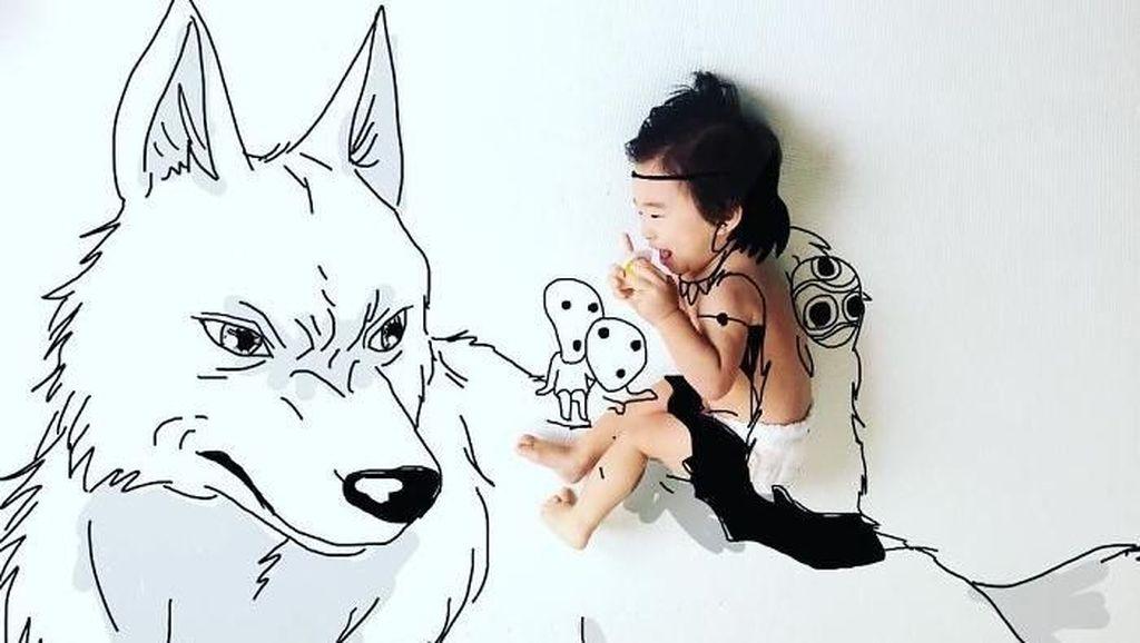 Karya Kreatif Seorang Ayah di Jepang Bikin Kagum