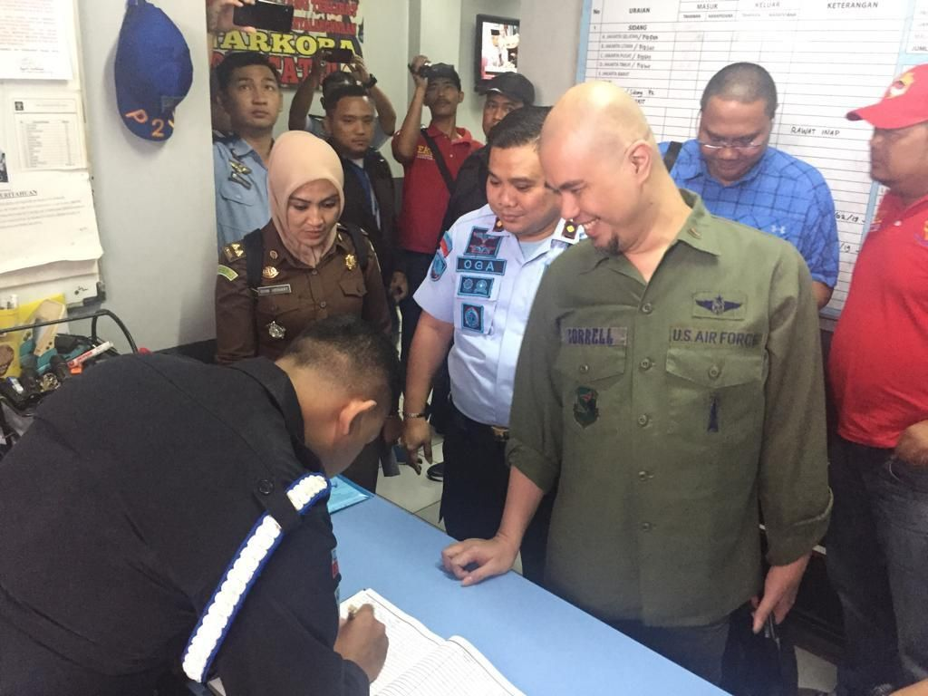 Rencana Al El Dul dan Dewa 19 Besuk Ahmad Dhani di Rutan Cipinang