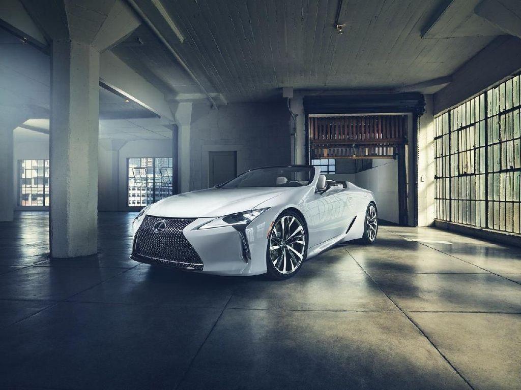Seksinya Lexus LC Versi Telanjang Ini