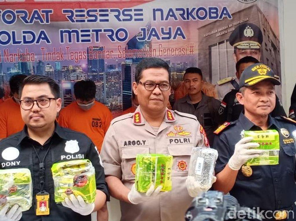 Selundupkan Sabu Pakai Mesin Es, Sindikat Narkoba RI-Malaysia Ditangkap