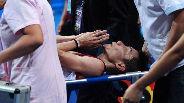 Lee Chong Wei selalu berjuang keras di partai final.