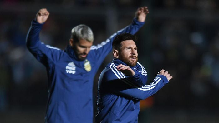 Pemain Timnas Argentina, Lionel Messi. (Foto: Marcelo Endelli/Getty Images)