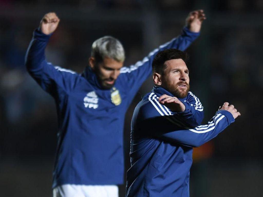 Argentina Bocorkan Starting XI Vs Kolombia