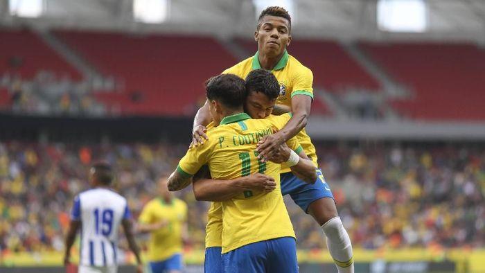 Timnas Brasil selalu menjadi juara saat menjadi tuan rumah Copa America. (Foto: Buda Mendes/Getty Images)