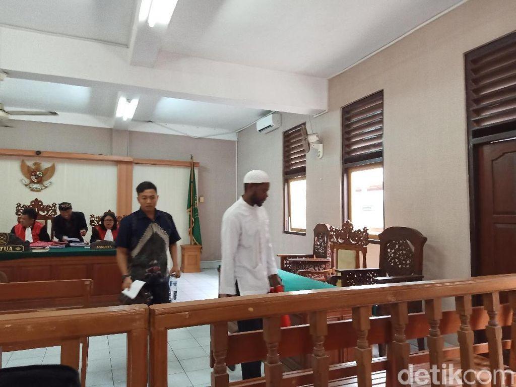 WN Tanzania Penelan 99 Kapsul Sabu Divonis 17 Tahun Bui