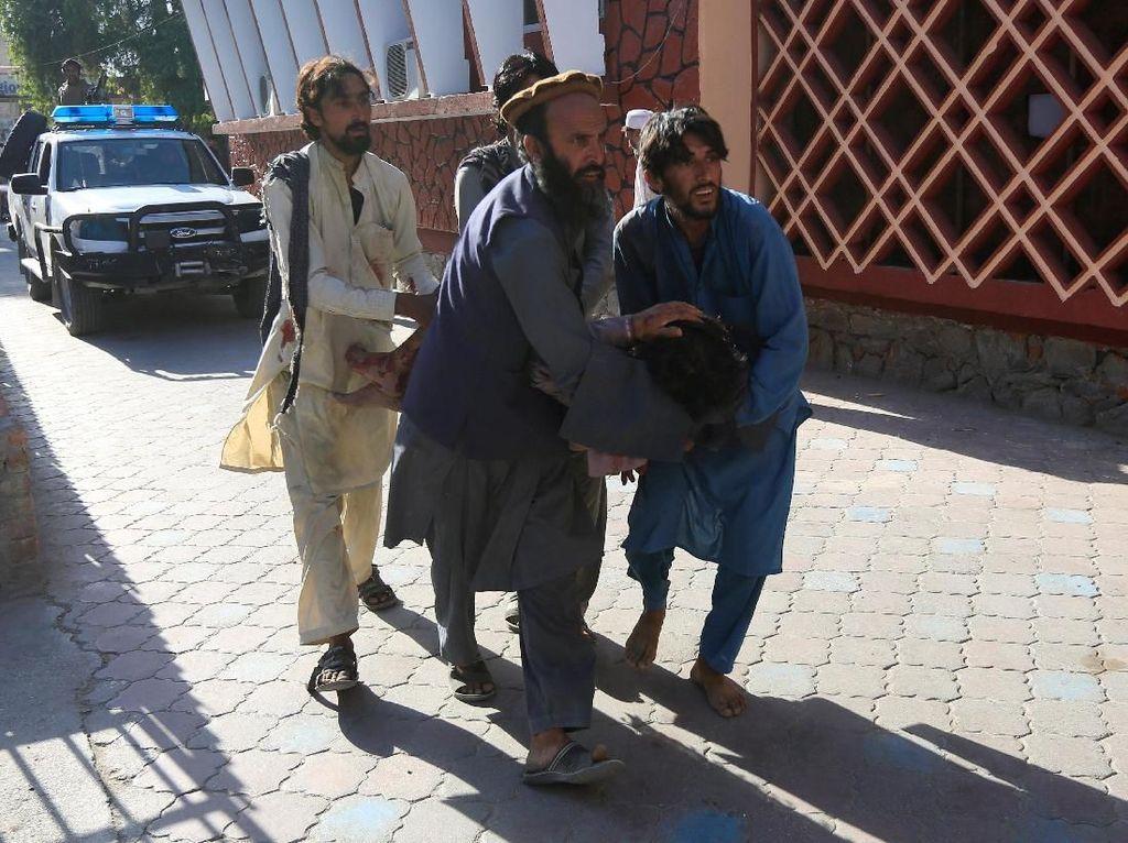Korban Tewas Serangan Bom Bunuh Diri di Afghanistan Jadi 11 Orang