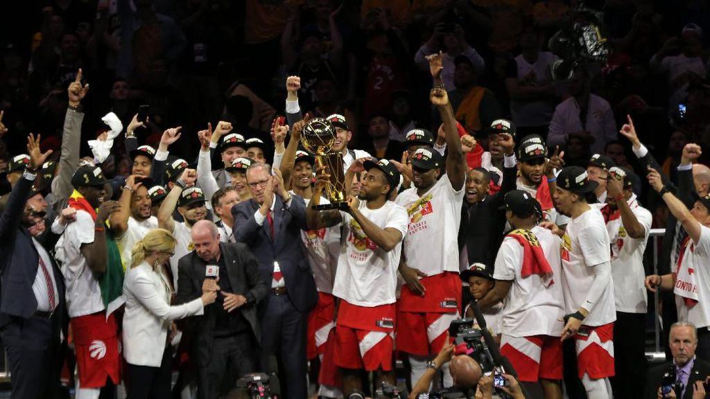 Toronto Raptors Menangi Gelar Juara NBA Pertama
