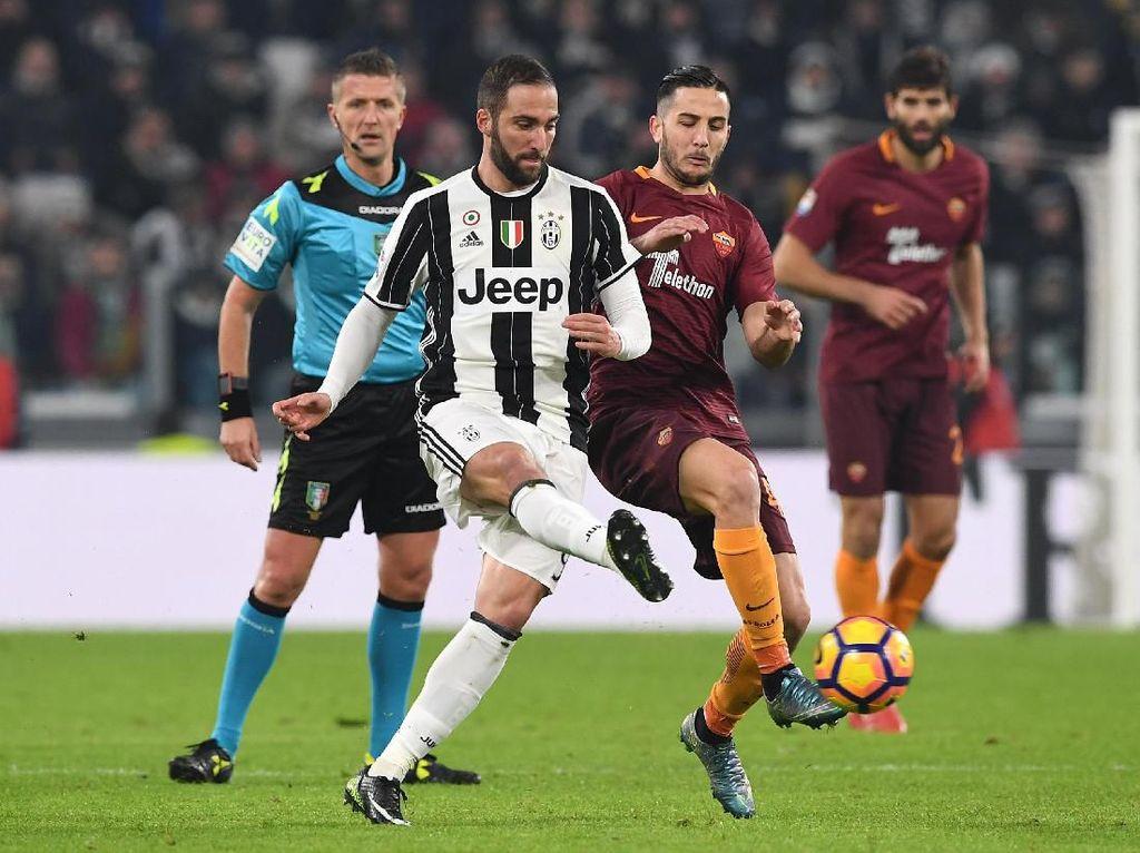 Juventus Mau Tukar Higuain dengan Manolas?