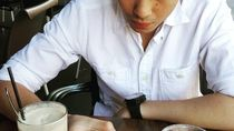 Aksi Kulineran Rob Clinton, Caleg Muda yang Kepergok Makan Bareng Chelsea Islan
