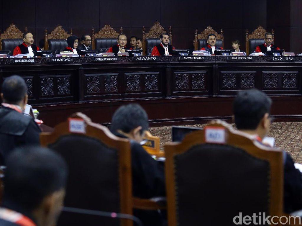 Poin-poin dari Sidang Perdana Gugatan Prabowo di MK
