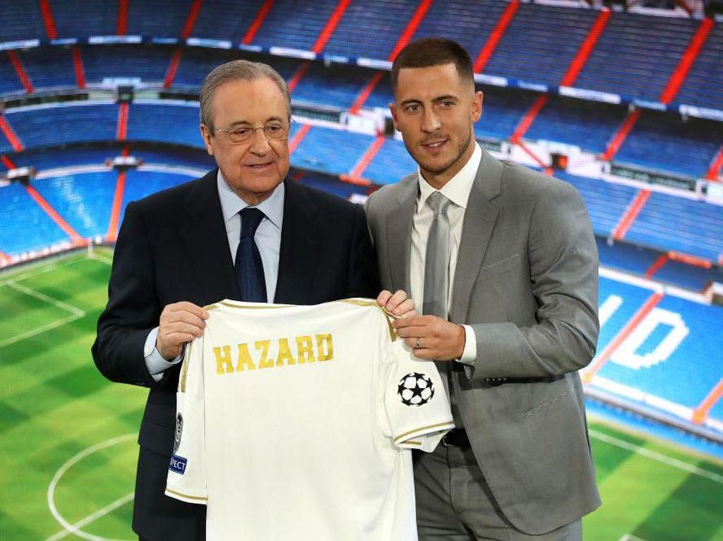Hazard Sudah Minta Nomor 10 ke Modric, Ini Hasilnya