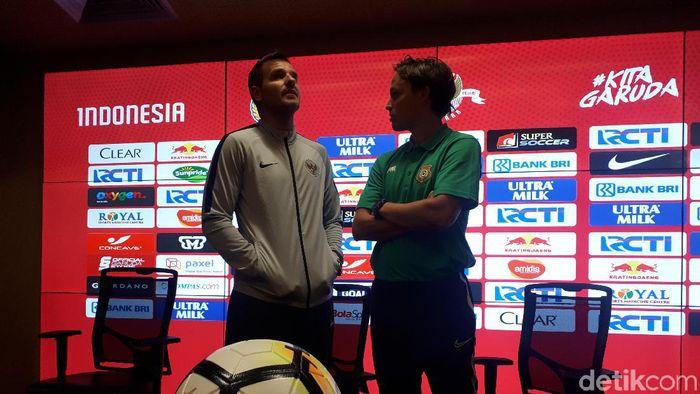 Pelatih Timnas Indonesia, Simon McMenemy. (Foto: Mercy Raya/Detikcom)