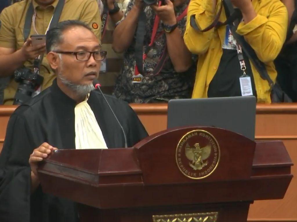 Ahli 01 Minta Hadirkan SBY di Sidang MK, BW: Tak Mungkin dengan Speedy Trial