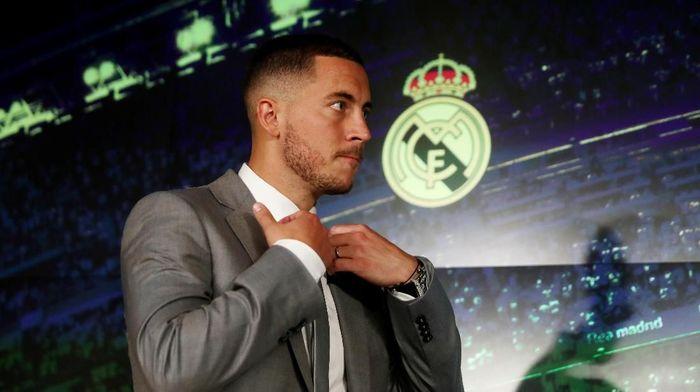 Eden Hazard tak fokus menangi Ballon dOr bersama Real Madrid (Sergio Perez/REUTERS)