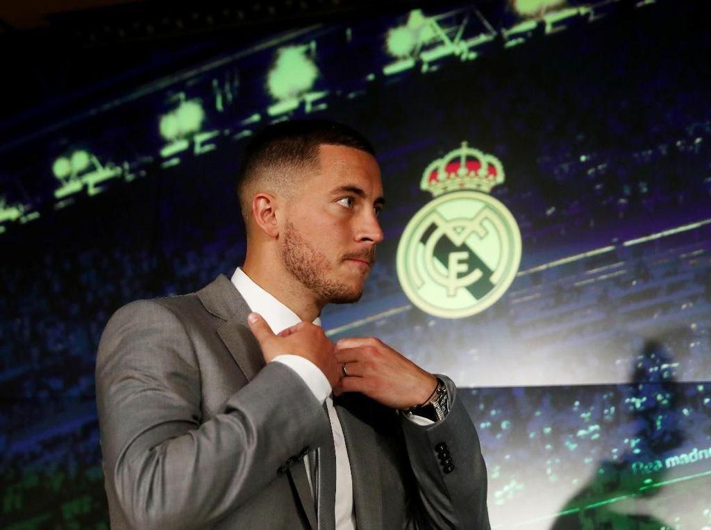 Kenangan Pertama Hazard soal Madrid: Gol Voli Zidane ke Gawang Leverkusen