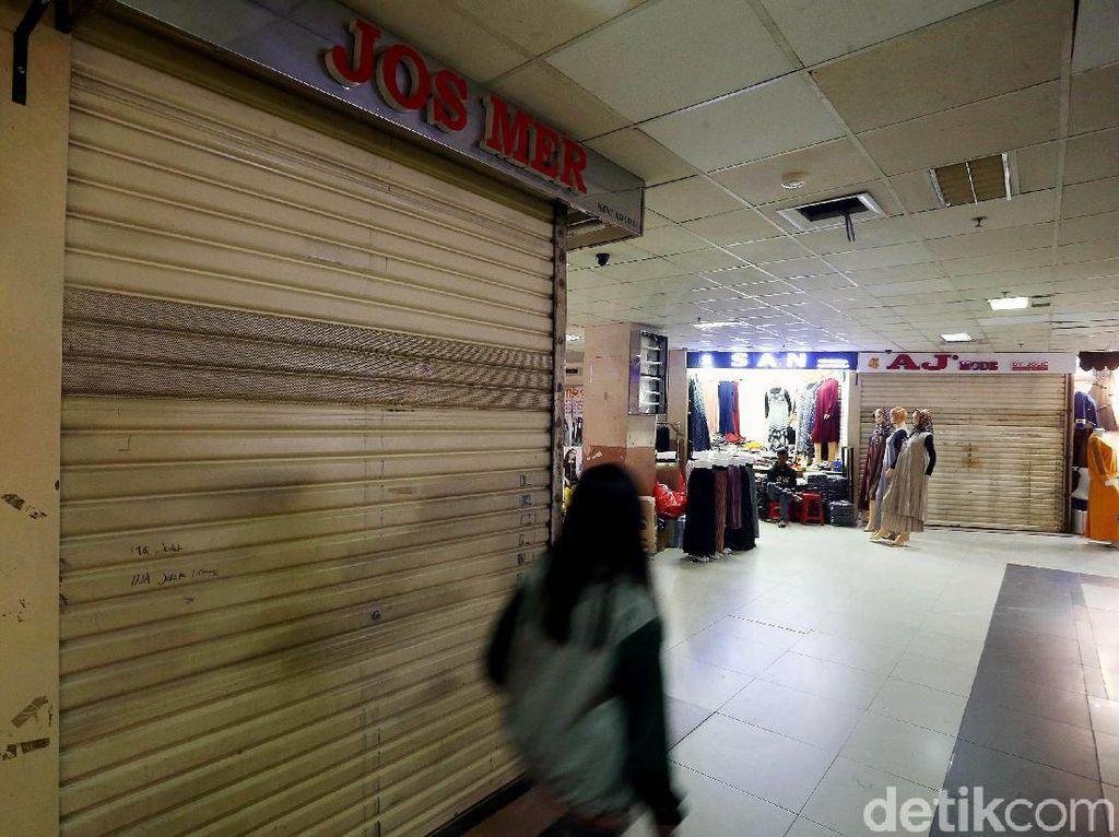 Pasar Tanah Abang Sepi, Pengelola: Baru 25% Pedagang Berjualan