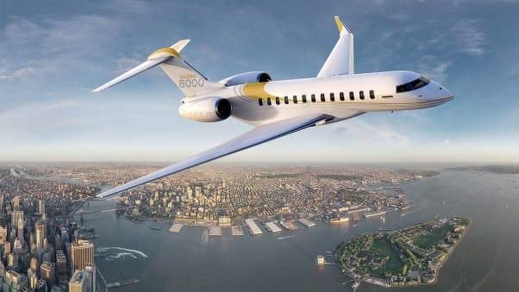 Potret Jeroan Pabrik Jet Pribadi Bombardier