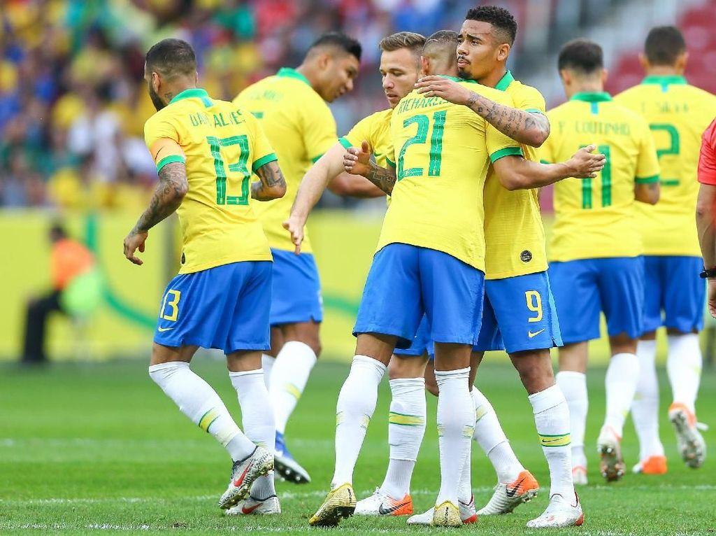 Brasil vs Paraguay: Adu Penalti Bikin Tim Samba Dag-Dig-Dug