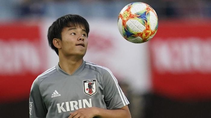 Takefusa Kubo, si Messi-nya Jepang kini memperkuat Real Madrid. (Foto: Toru Hanai/Getty Images)