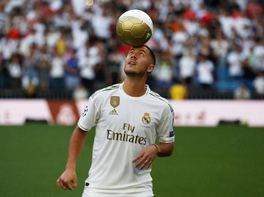 Bisa Berapa Trofi di Madrid, Hazard?