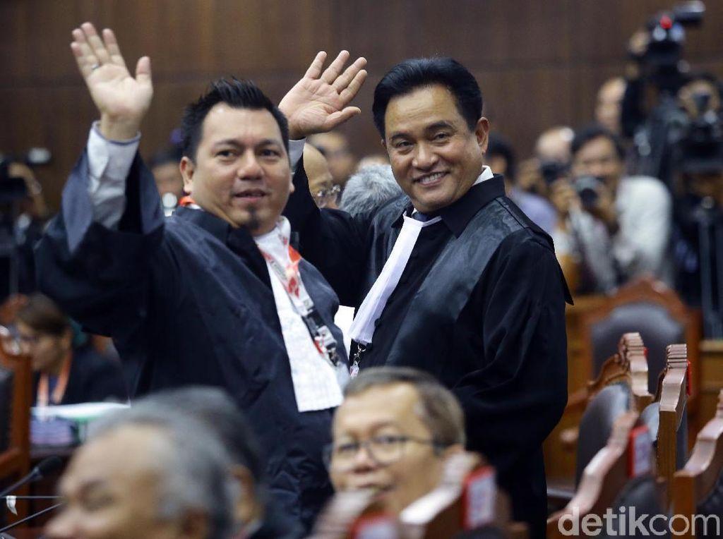 Tim Hukum Jokowi Yakin Menang atas Gugatan Prabowo di MK, Ini 2 Alasannya