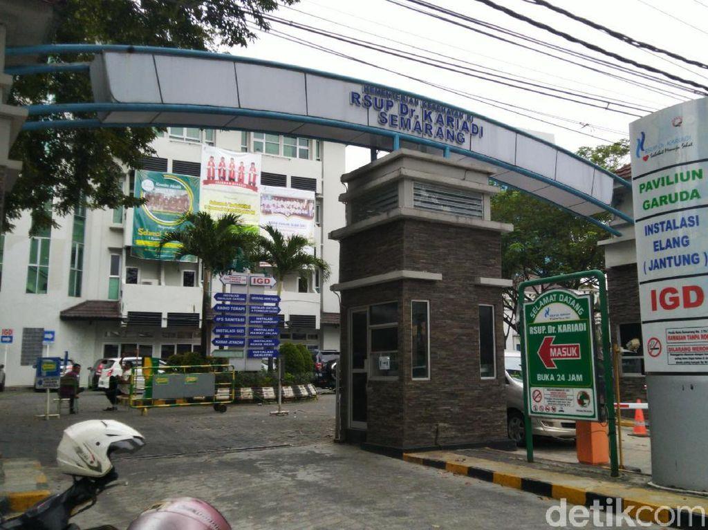 Suspek Corona di Semarang Meninggal karena Bronkopneumonia