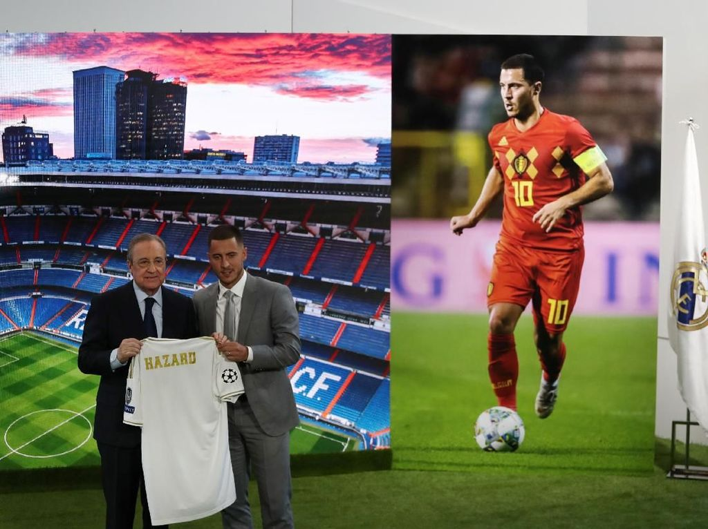 Welcome to Real Madrid, Eden Hazard!