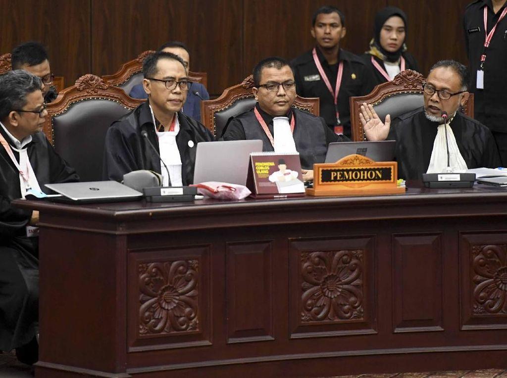 Versi Tim Hukum BPN: Jokowi-Maruf 48%, Prabowo-Sandi 52%