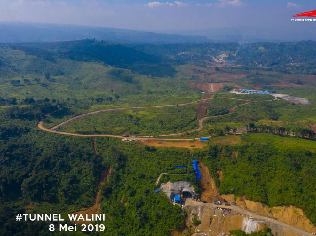 Proyek Kereta Cepat di Bandung Barat Tak Berizin, KCIC: Sedang Proses