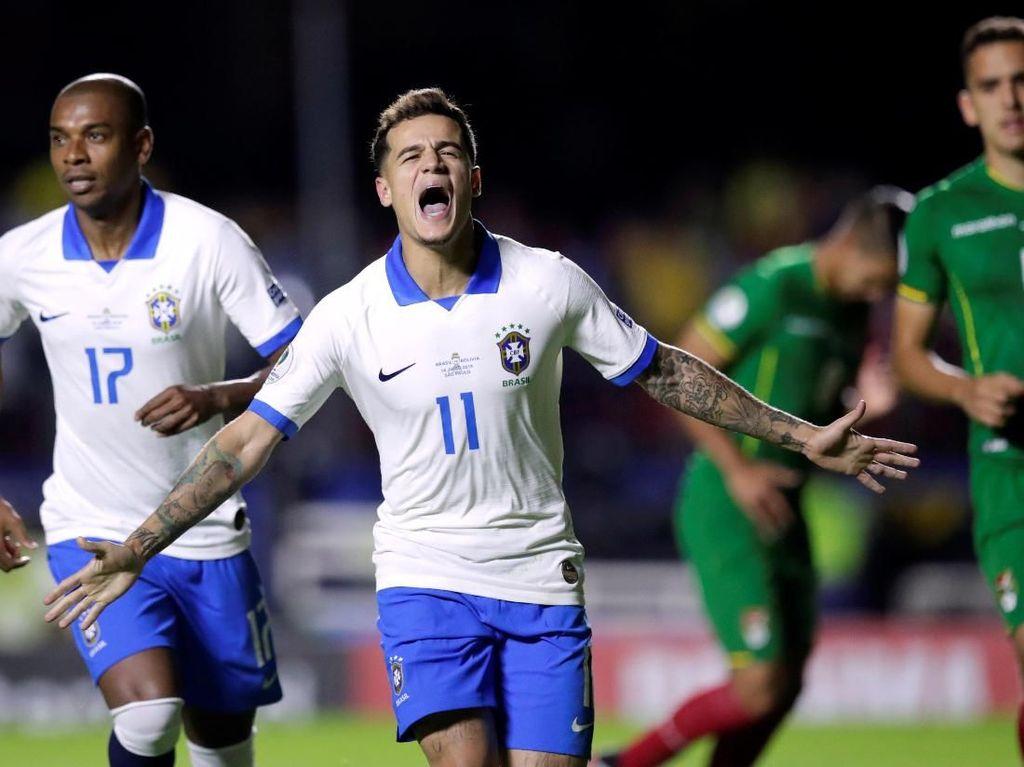 Hasil Copa America: Brasil Start dengan Kemenangan 3-0 atas Bolivia