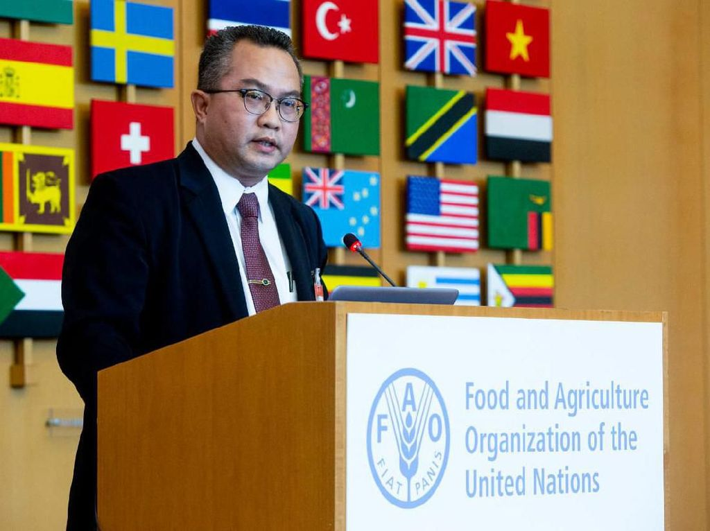 Diundang ke Kantor Pusat FAO di Roma, Rektor IPB Bicara Agromaritim 4.0
