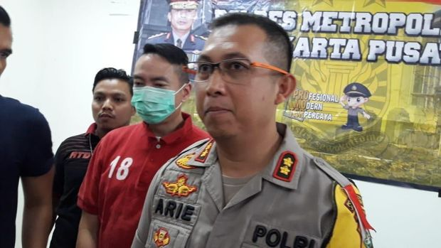 Polisi rilis kasus penodongan senpi di Jalan Alaydrus.