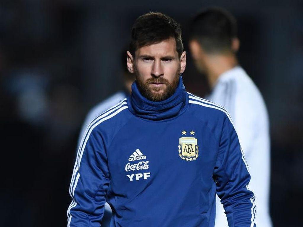Messi Jadi Sasaran Kritik, Falcao: Itu Risiko Pemain Terbaik di Dunia