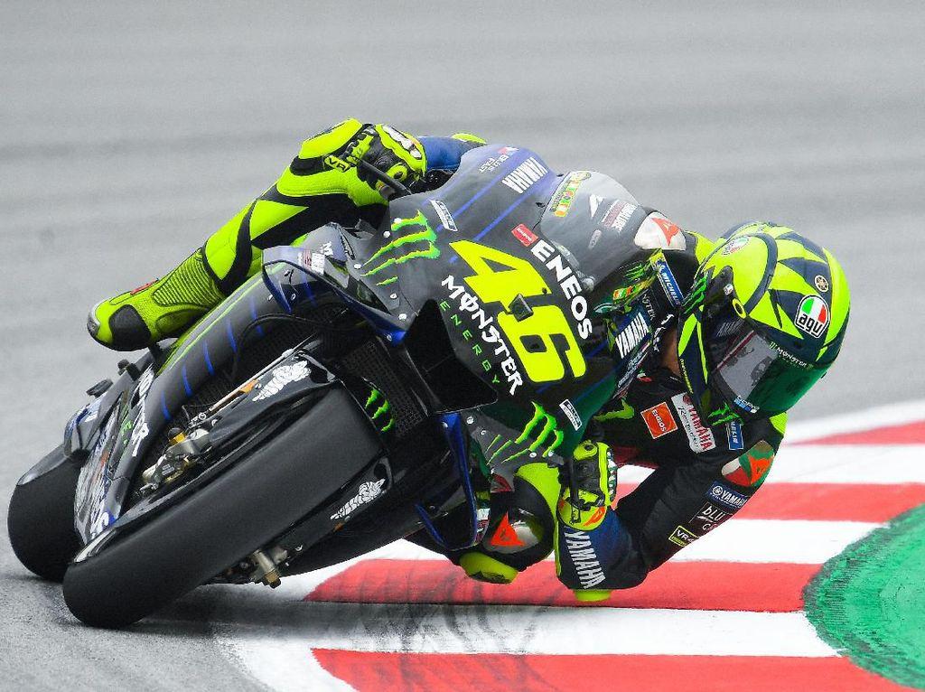 Enggan Salahkan Lorenzo, Rossi Kritik Tikungan Sirkuit Layaknya Supermarket