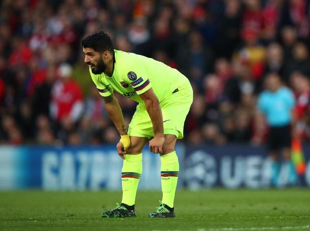 Efek Dikalahkan Liverpool, Suarez Sampai Tak Mau Antar Anak Sekolah