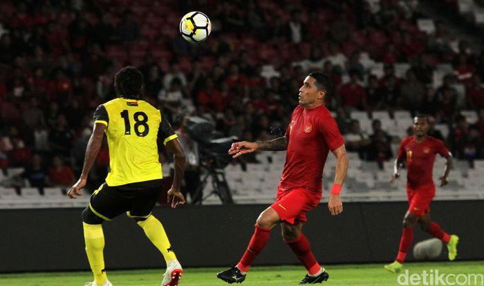 Bermain di Stadion Utama Gelora Bung Karno, Sabtu (15/6/2019) malam WIB, Indonesia menang dengan skor telak 6 gol tanpa balas.