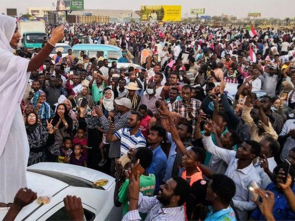 Protes 7 Demonstran Tewas, Warga Sudan Blokir Jembatan Sungai Nil